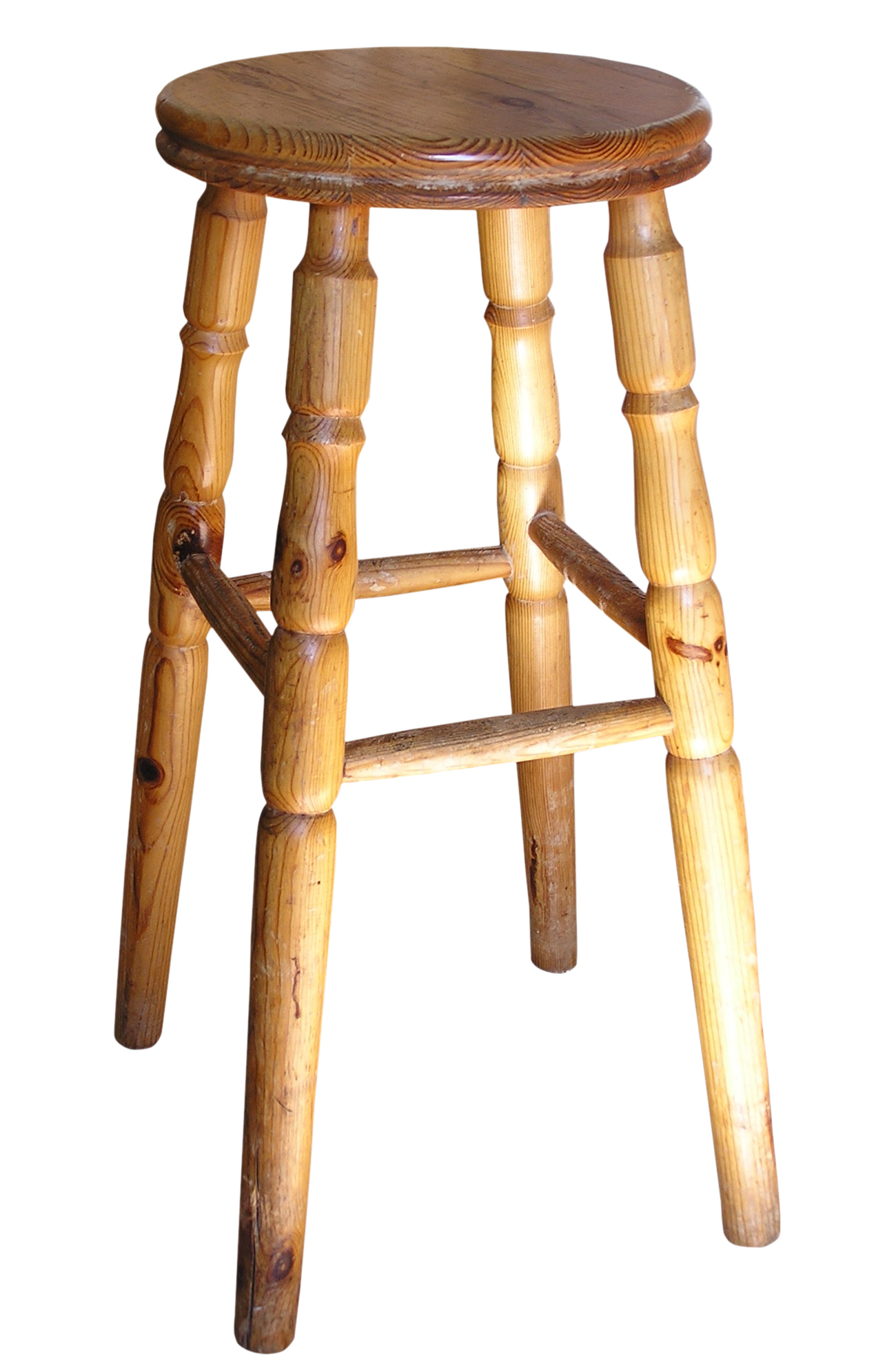 The Four-Legged Stool. stool